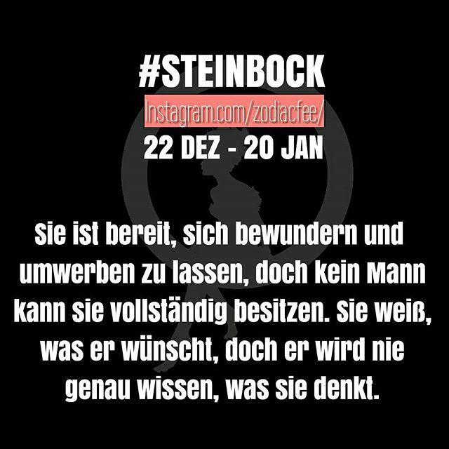 Herausforderung für die Männerwelt ;)   #sternzeichen #horoskop #Steinbock #geburtstag #sprüche #astrologie #freundin #liebe