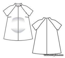 free pattern, выкройки для беременных, туника для беременных, туника