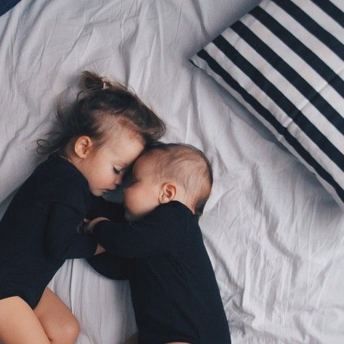 kids | babies & toddlers | black with black | cuddles in bed | sleepy moment