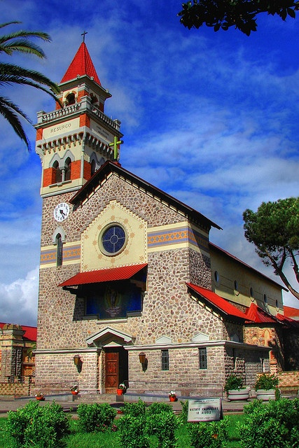 Arboreas Parish Church - Sardinia, Italy