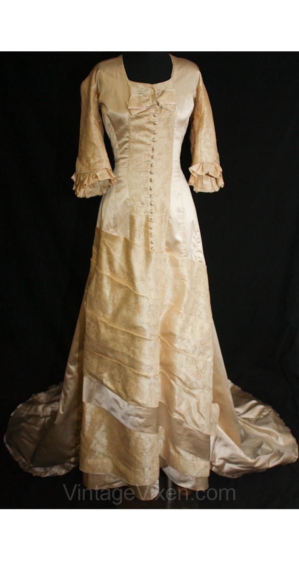 1575 best Antique Wedding Gowns--1800--1940 images on Pinterest ...