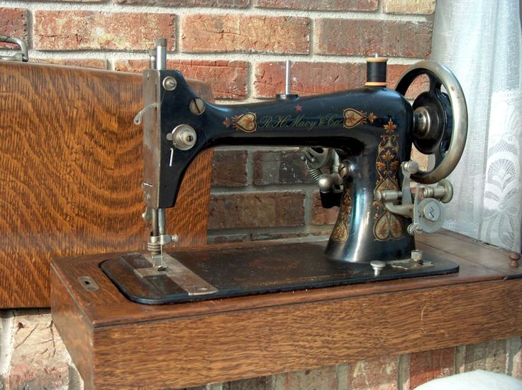 great article about the history of the modern sewing machine