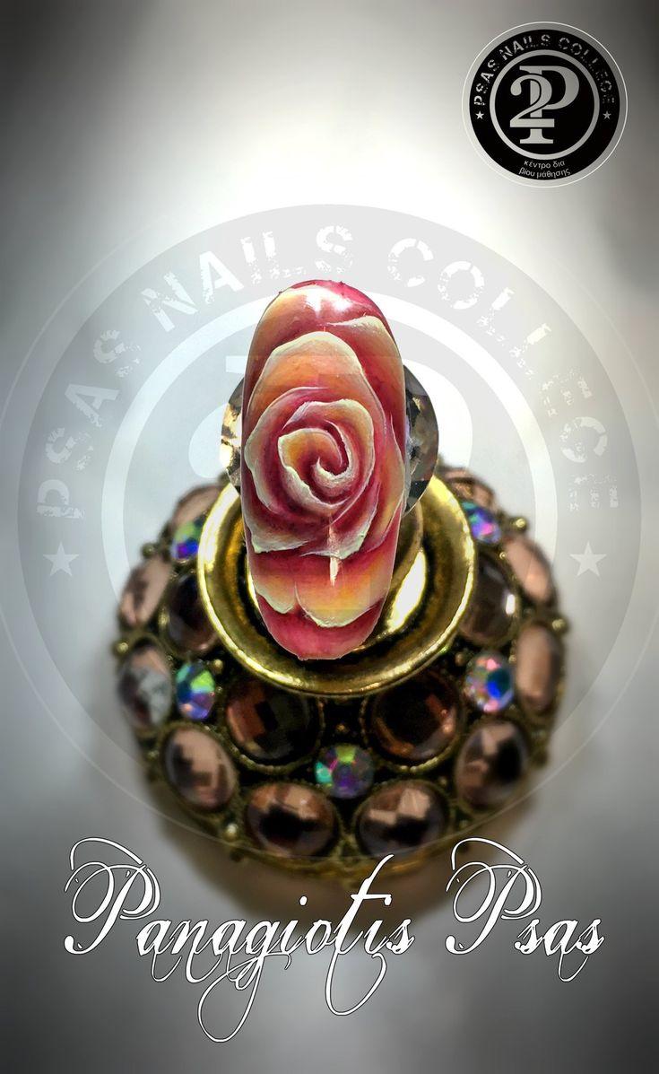 Gel painting roses! @panagiotispsas