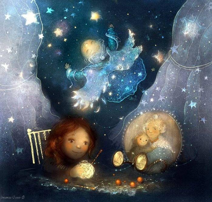 сказочных теплых снов картинки что