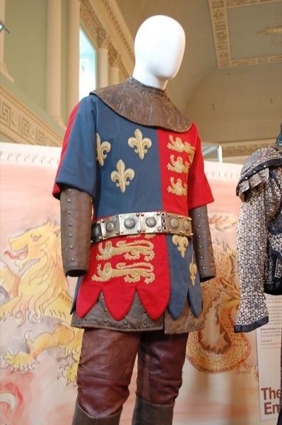 Laurence Olivier costume from Henry V [1944]