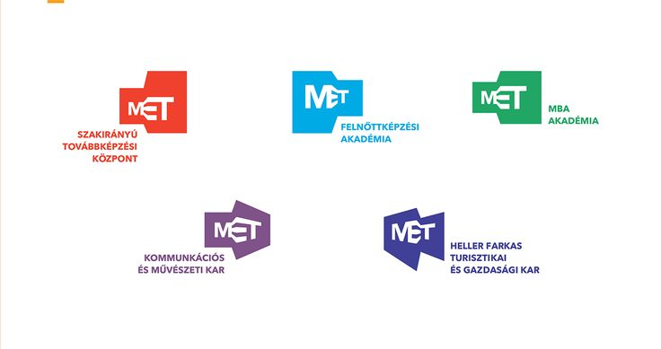 Branding proposal for MET, the Budapest Metropolitan University of Applied Sciences, a dynamic, constantly growing and internationally recognized institution. We established an identity that is quite dynamic and variable and embodies their core values lik…