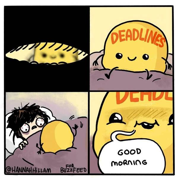 deadlines                                                                                                                                                                                 More