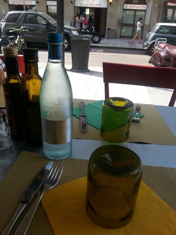 waiting for salad @ baobab Milano