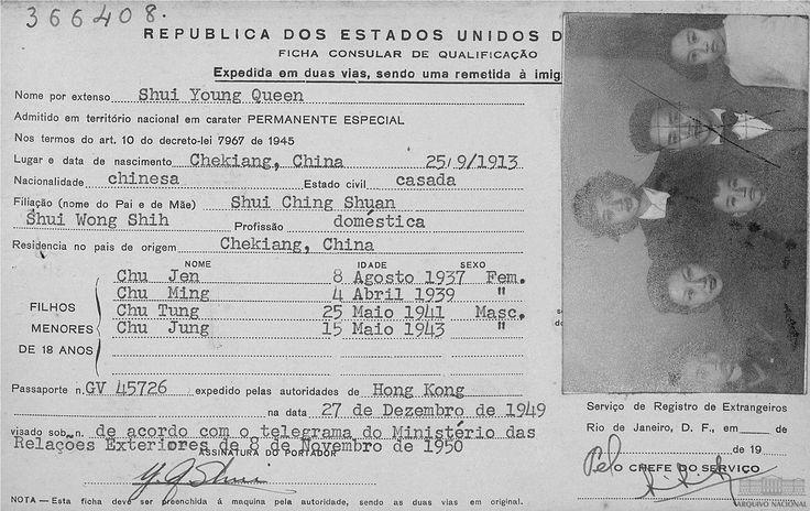 Registre consulaire du designer sino-brésilien Chu Ming Silveira. Elle a appris à connaître …