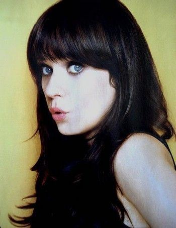 acrtess, beautiful, black and white, blue eyes, fashion, girl, hair, new girl, person, quote, schneewitchen, snow white, special, text, true, truth, tv, vampire, vintage, zoey deschanel