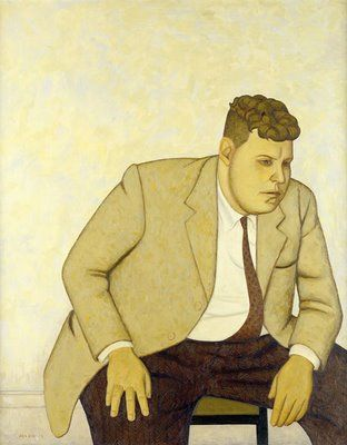 john brack's portrait of fred williams