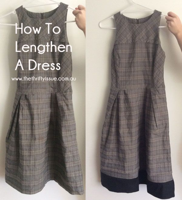 How To Lengthen A Dress PIN