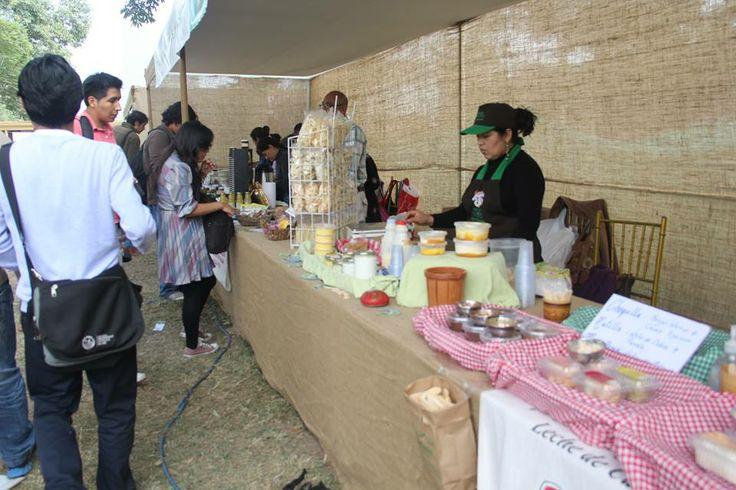 Zona de mercado donde encuentra productos naturales y orgánicos.