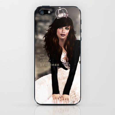 Not your ordinary princess iPhone & iPod Skin by Elvestidordelolita - $15.00