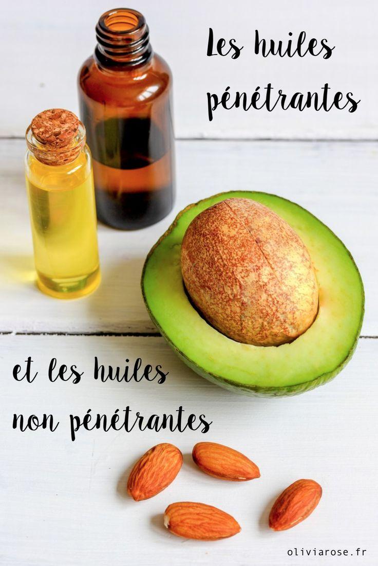 Découvrez quelles sont les huiles pénétrantes des cheveux crépus et les huiles non pénétrantes.