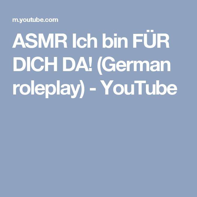 ASMR Ich bin FÜR DICH DA! (German roleplay) - YouTube