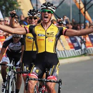 arran top podium step in 2011 94.7...