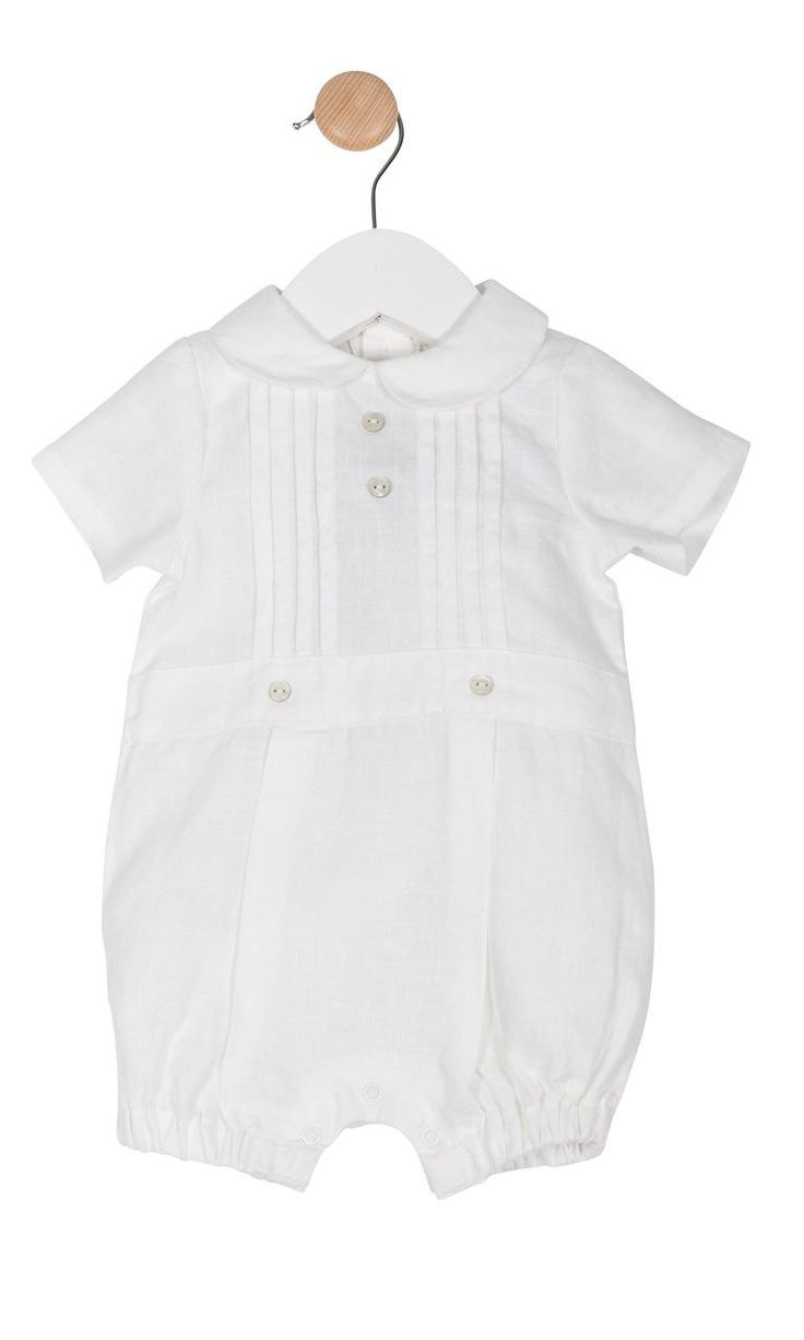 Stunning Traditional Linen Baby Romper Outfit Spanish Romany Style by Mintini | eBay