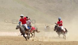 Himalayan Polo - at the Second Coldest Habitat on Earth