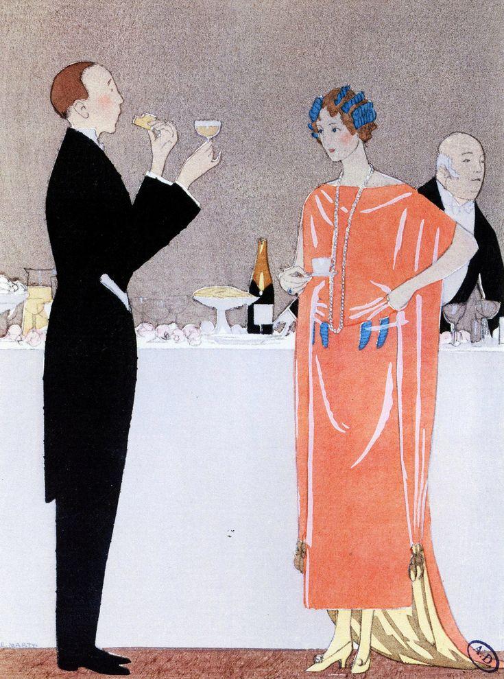 Que Pensez-Vouz des Six?, Andre Edouard Marty, from Gazette du Bon Ton, 1921