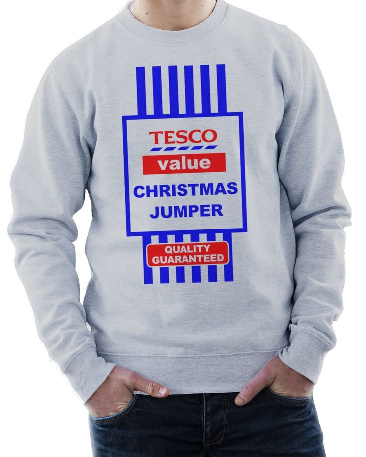 Tesco Value Funny Christmas Jumper (18.99 GBP) by EZYTEES
