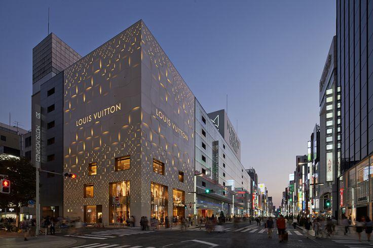 Galeria - Reforma da fachada da Louis Vuitton Matsuya Ginza / Jun Aoki & Associates - 10