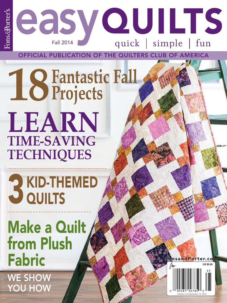 Easy Quilts Fall 2014 Digital Issue