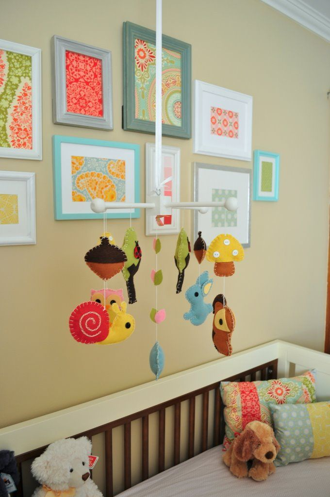 Not knowing the gender of our baby, I want a neutral approach, but these pops of color are perfect. #projectnursery, #franklinandben, #nursery