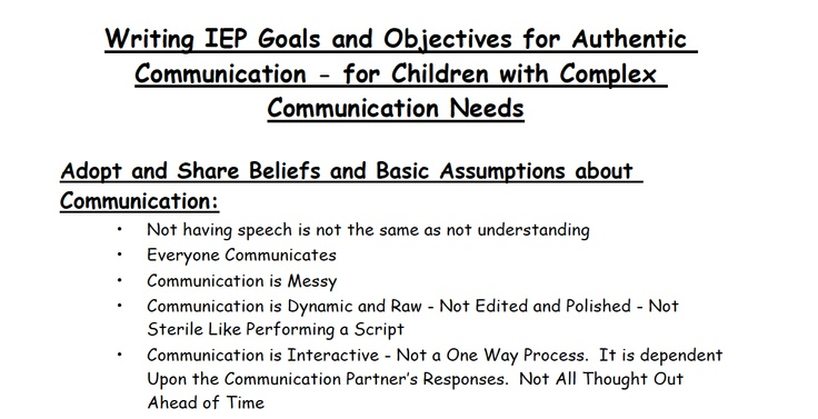 goals and objectives for writing skills Examples of iep goals and objectives suggestions for students with autism _____ will develop social understanding skills as measured by the benchmarks listed below.