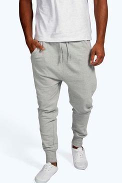 Lightweight Drop Crotch Joggers