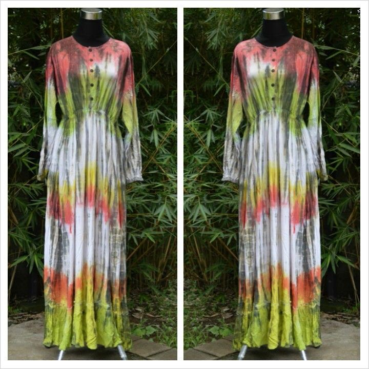 Busui friendly dress, tiedye pattern..handmade and limited product