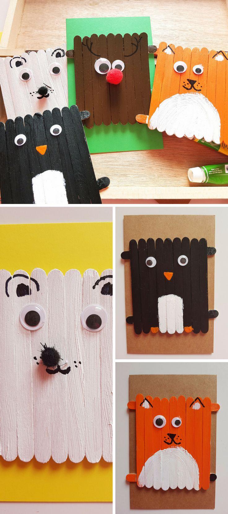 Lustige Wintertiere basteln aus Eisstielen einfache Anleitung SimplyLovelyChaos Blog  ~ 25185123_Liegestuhl Aus Geld Und Eisstielen
