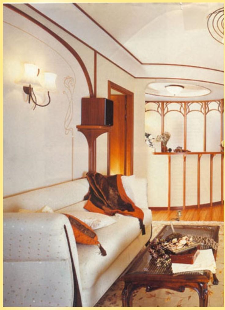 Art nouveau. Art Nouveau Interior