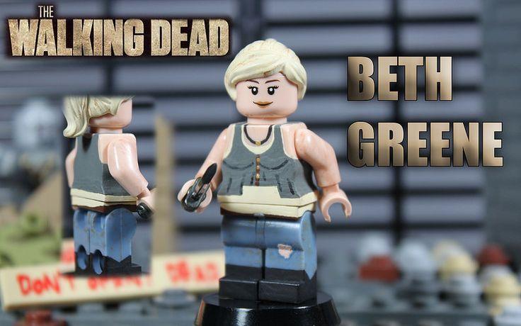 Custom LEGO The Walking Dead: Season 4 | Beth Greene | #TheWalkingDead