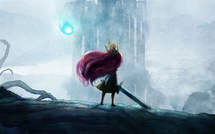 Download wallpapers 4k, Child Of Light, art, Ubisoft