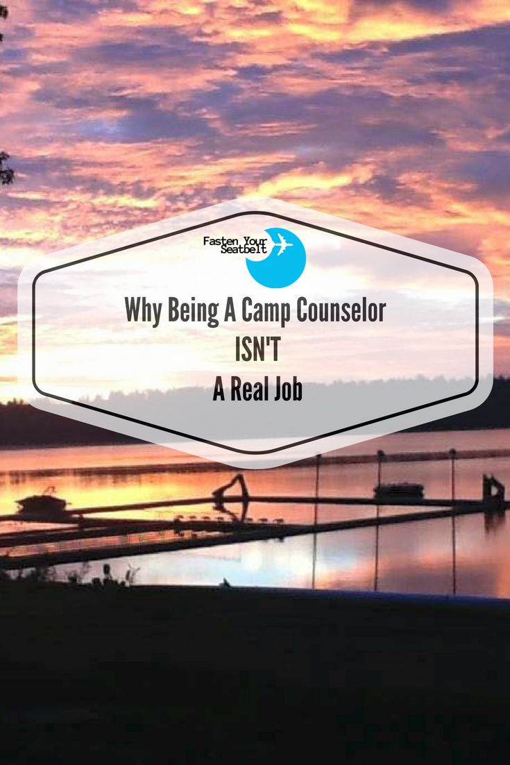Working at a summer camp is NOT a real job. Find out what I learned about working as a counselor at a camp in America and why it doesn't count as a real job here.