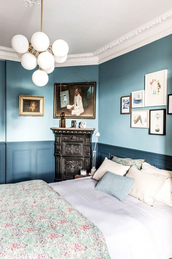 tour a single dads moody and masculine french apartment - Single Wall Apartment 2015