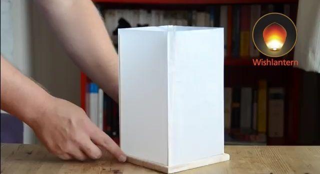 How to make DIY floating lantern