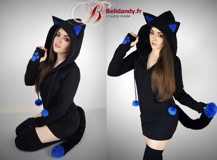 Sweat Veste Cyber Kawaii Capuche Oreilles Queue Kitty Chat  http://www.belldandy.fr/sweat-veste-cyber-kawaii-capuche-oreilles-queue-kitty-chat.html https://www.facebook.com/belldandy.fr/photos/a.338099729399.185032.327001919399/10154945688729400/?type=3