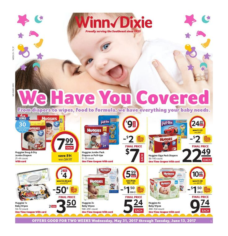 Winn Dixie In-Store Flyer May 31 - June 13, 2017 - http://www.olcatalog.com/grocery/winn-dixie-in-store-flyer.html