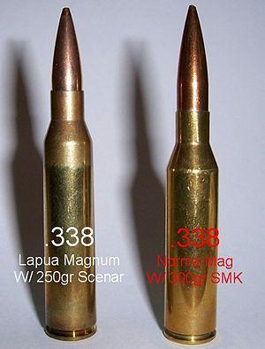 .338 Lapua Magnum vs .338 Norma Magnum