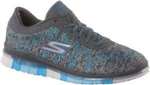 Sneaker günstig kaufen | Skechers Go Flex Sneaker Damen schwarz/blau | 00886005688289