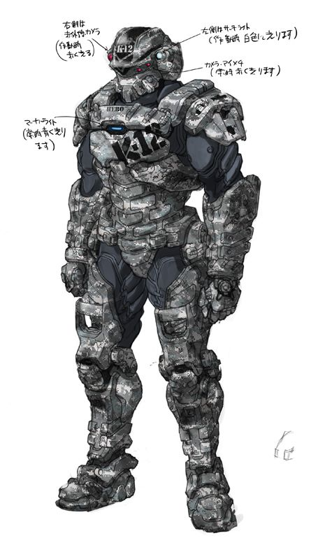 Starship troopers Invasion Henry Varro  (hero) by RyuKomagora8.deviantart.com on @deviantART