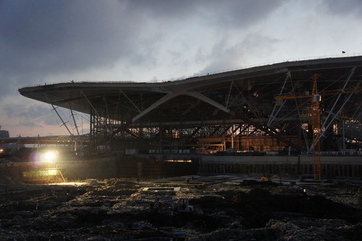 Qingdao railway station construction - AREP / MaP3 / Tie San Yuen
