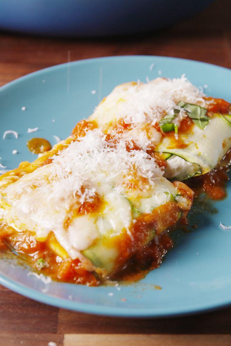 Best Zucchini Ravioli Recipe - How To Make Zucchini Noodles - Delish.com