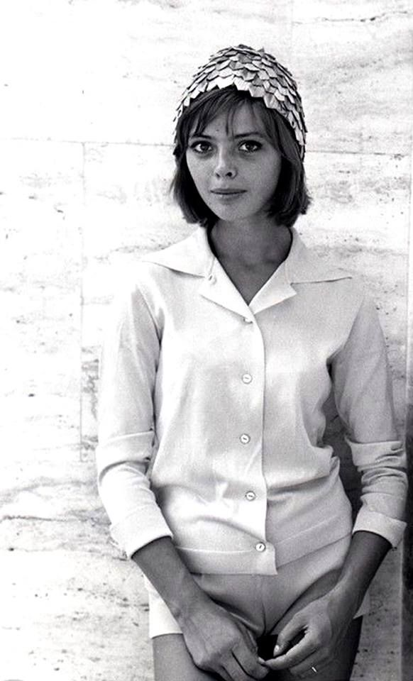 Barbara Kwiatkowska photographed by Peter Basch.