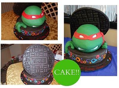 Teenage Mutant Ninja Turtles Birthday Party Ideas   Photo 5 of 12