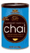 Elephant Vanilla; David Rio's very first chai recipe remains as popular as ever, and is a rich and creamy mixture of black tea and premium spices. This season, try the NEW Salted Caramel Chai Latte with your favorite Salted Caramel Syrup, then simply mix with hot water or milk. It is delicately blended into a convenient mix that makes an excellent gift as well as a perfect daily cup.