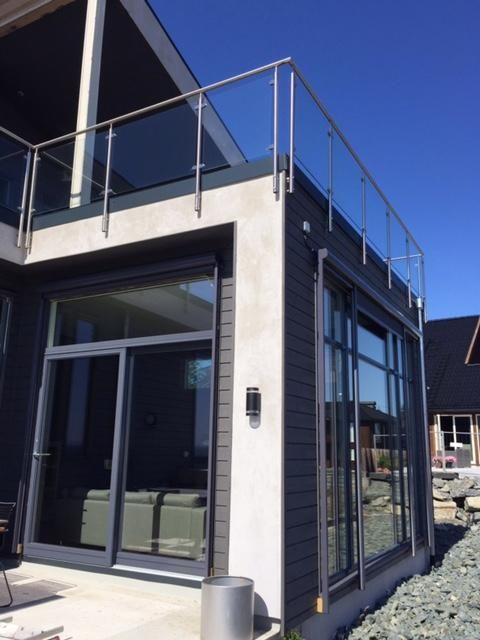 #takrerrasse #glassrekkverk #roofterrace