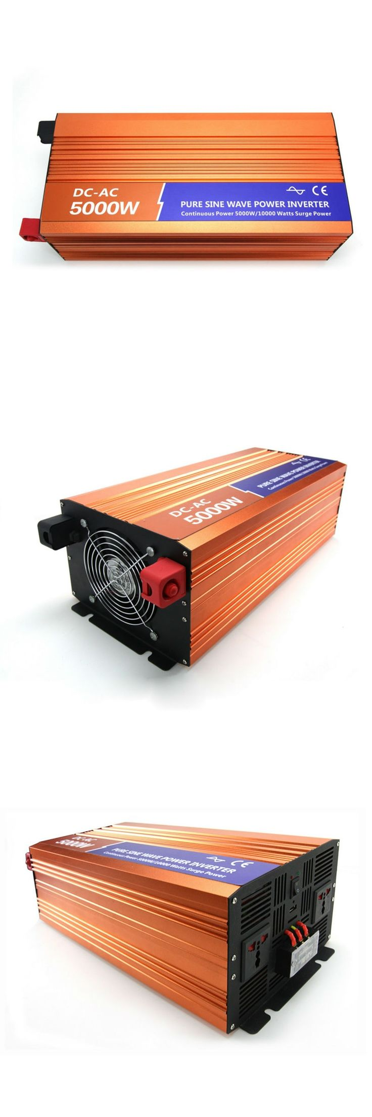 DECEN 5000W 48VDC 110V/120V/220V/230VAC 50Hz/60Hz Peak Power 10000W Off-grid Pure Sine Wave Solar Inverter or Wind Inverter
